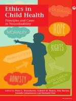 Ethics in Child Health
