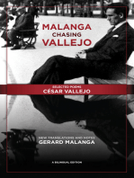 Malanga Chasing Vallejo: Selected Poems: César Vallejo: New Translations and Notes: Gerard Malanga