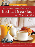 How to Open a Financially Successful Bed & Breakfast or Small Hotel