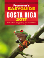 Frommer's EasyGuide to Costa Rica 2017