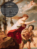 Seventeenth-Century Opera and the Sound of the Commedia dell'Arte
