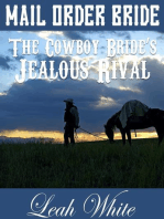 The Cowboy Bride's Jealous Rival (Mail Order Bride)