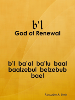 b'l - Baal the God of Renewal