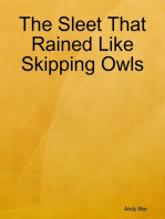 The Sleet That Rained Like Skipping Owls