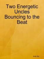 Two Energetic Uncles Bouncing to the Beat