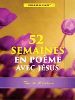 52 Semaines en Poème Avec Jésus (Tome 2