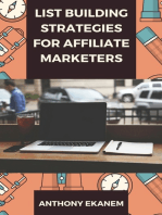 List Building Strategies for Affiliate Marketers