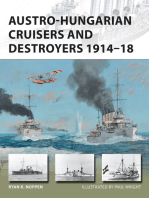 Austro-Hungarian Cruisers and Destroyers 1914–18