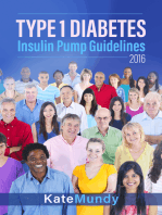 Type 1 Diabetes Insulin Pump Guidelines 2016