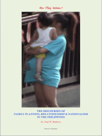 Are They Serious? The Discourses of Family Planning, Bio-Citizenship and Nationalism in the Philippines