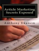 Article Marketing Secrets Exposed
