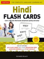 Hindi Flash Cards Ebook
