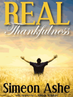 Real Thankfulness