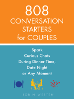 808 Conversation Starters for Couples