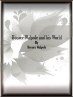 Horace Walpole and his World