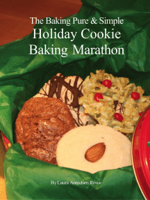 The Baking Pure & Simple Holiday Cookie Baking Marathon