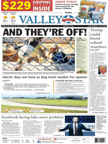 The Valley Morning Star - 11-20-2016