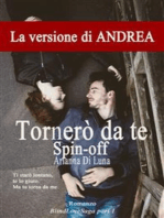 Tornerò da te - Spin off