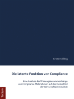 Die latente Funktion von Compliance