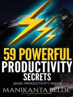 59 Powerful Productivity Secrets
