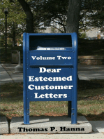 Dear Esteemed Customer Letters, Volume Two