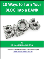 10 Ways to Turn Your Blog into a Bank