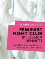 A Joosr Guide to... Feminist Fight Club by Jessica Bennett