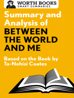 Summary and Analysis of Between the World and Me