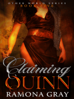 Claiming Quinn (Other World Series Book Five)