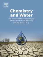 Chemistry and Water