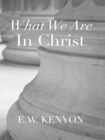 What We Are in Christ