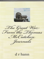 The Great War From the Thomas McCutchen Journals