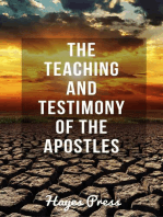 The Teaching and Testimony of the Apostles