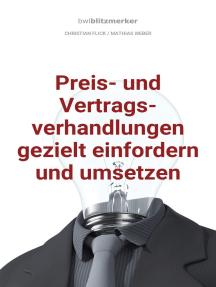 bwlBlitzmerker: Preis- und Vertragsverhandlungen gezielt einfordern und umsetzen