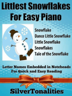 Littlest Snowflakes for Easy Piano
