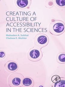 Creating a Culture of Accessibility in the Sciences