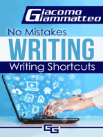 No Mistakes Writing, Volume I