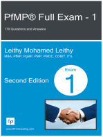 PfMP® Full Exam: 1: 170 Questions and Answers
