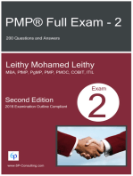 PMP® Full Exam: 2: 200 Questions and Answers