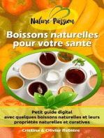 Boissons naturelles pour votre santé