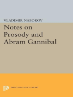 Notes on Prosody and Abram Gannibal