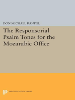The Responsorial Psalm Tones for the Mozarabic Office