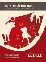 Estatus ácido-base: Conceptos, desequilibrios e interpretación