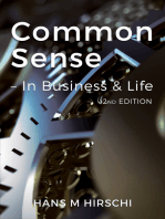 Common Sense - In Business & Life (2nd Edition)