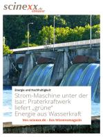 Strom-Maschine unter der Isar
