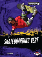 Skateboarding Vert