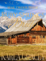 Mail Order Bride - Ruby Springs Brides Box Set - Books 1-4