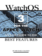 Watch Os 3 for the Apple Watch