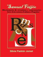 Samuel Feijóo. Diccionario de términos y comentarios. Arte. Literatura. Cultura Popular.