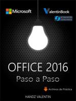 Office 2016 Paso a Paso